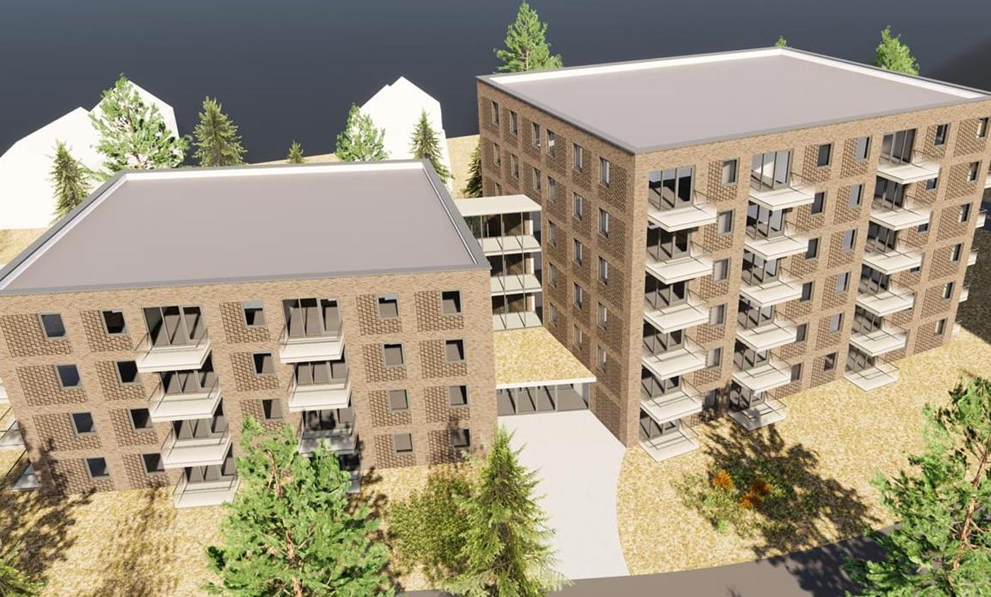 78 appartementen Duinrijk Almere - Trebbe Bouw